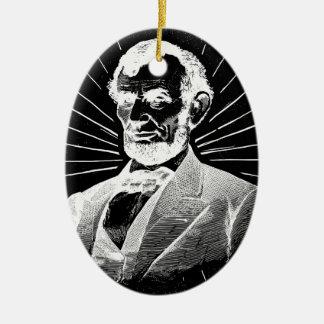 グランジなエイブラハム・リンカーン セラミックオーナメント