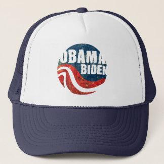 グランジなオバマバイデン氏のトラック運転手の帽子 キャップ
