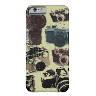 グランジなカメラマンの写真撮影のヴィンテージのカメラ BARELY THERE iPhone 6 ケース