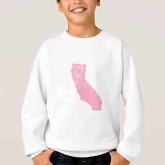 グランジなカリフォルニアピンクのヴィンテージ スウェットシャツ