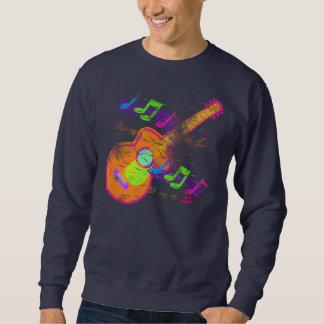 グランジなギターのスエットシャツ スウェットシャツ