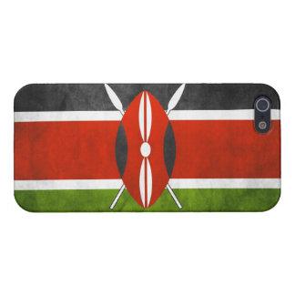 グランジなケニヤの旗: iPhone 5 カバー