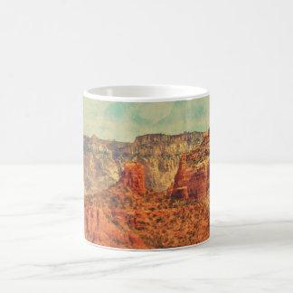 グランジなコーヒー・マグのセドナ コーヒーマグカップ