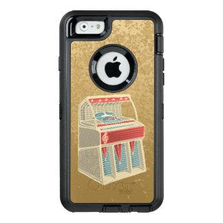 グランジなジュークボックス オッターボックスディフェンダーiPhoneケース