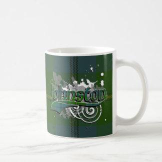 グランジなジョンソンのタータンチェック コーヒーマグカップ