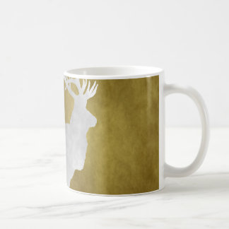 グランジなスタイルのオオシカ コーヒーマグカップ