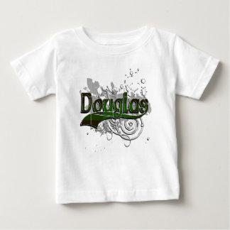グランジなダグラスのタータンチェック ベビーTシャツ