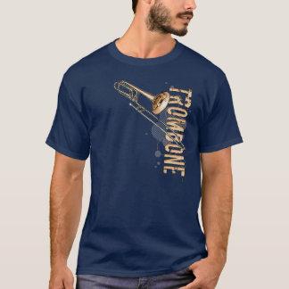 グランジなトロンボーン Tシャツ
