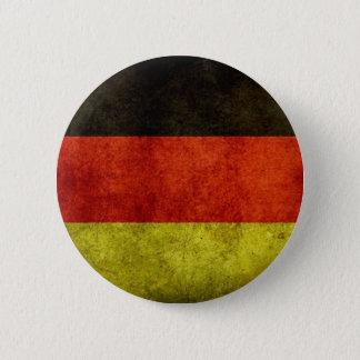 グランジなドイツの旗ボタン 5.7CM 丸型バッジ