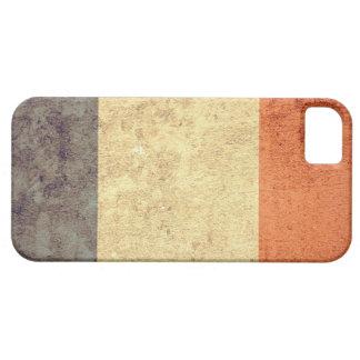 グランジなフランスの旗- iPhone SE/5/5s ケース