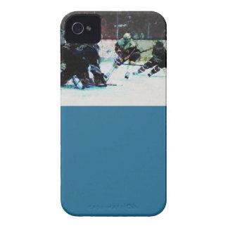 グランジなホッケーのマッチ Case-Mate iPhone 4 ケース