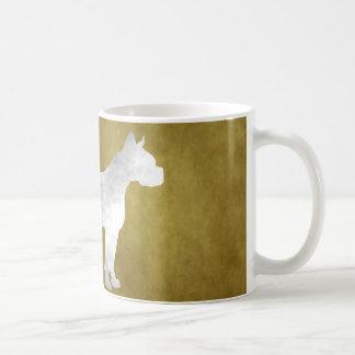 グランジなボクサー コーヒーマグカップ