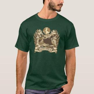グランジなワニ Tシャツ