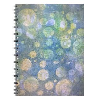 グランジな円のノート ノートブック