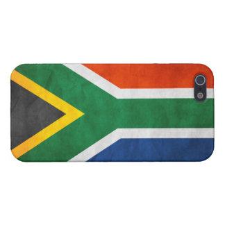 グランジな南アフリカ共和国の旗: iPhone 5 CASE
