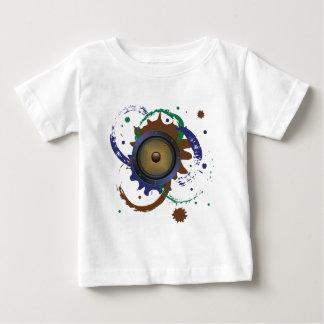グランジな可聴周波スピーカー3 ベビーTシャツ