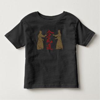グランジな合気道 トドラーTシャツ