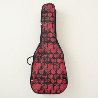 グランジな愛ハート ギターケース