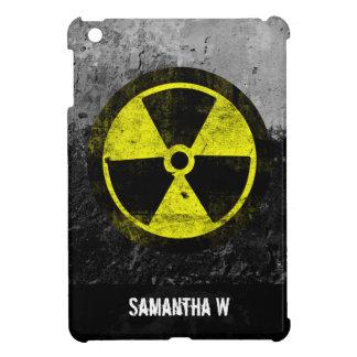 グランジな放射性記号 iPad MINI カバー