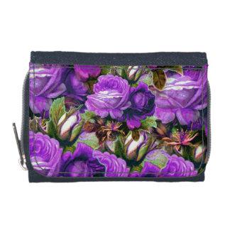 グランジな明るい紫色のヴィンテージのバラ