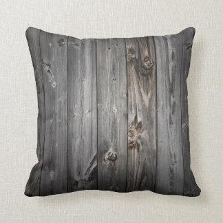 グランジな木製の枕 クッション