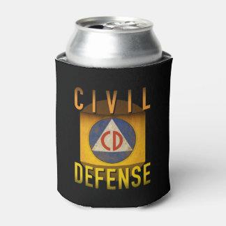 グランジな民間防衛の記号のレトロの原子力時代: 缶クーラー