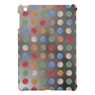 グランジな水玉模様パターン iPad MINIケース