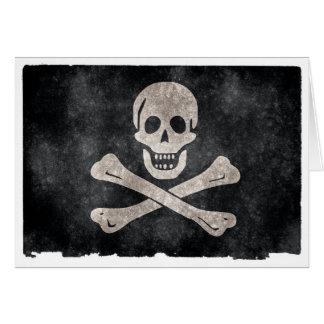 グランジな海賊旗 カード