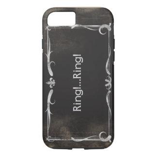 グランジな無声映画のタイトルのiPhone 7の場合のヴィンテージ iPhone 8/7ケース