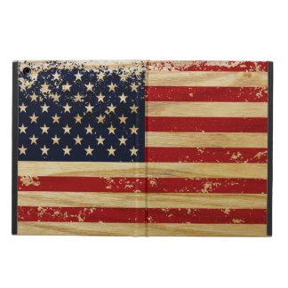 グランジな米国旗 iPad AIRケース