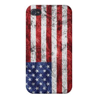 グランジな米国- iphone 4ケース iPhone 4 ケース