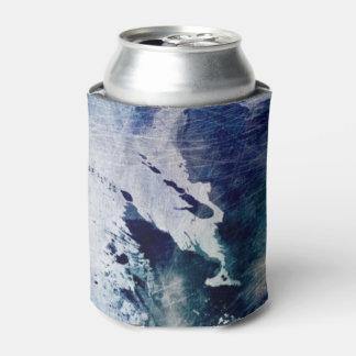 グランジな紙2の抽象的な水彩画の背景 缶クーラー