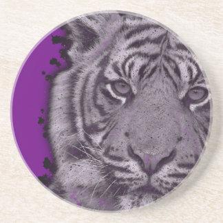 グランジな紫色の抽象芸術のトラ コースター