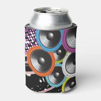 グランジな背景 缶クーラー