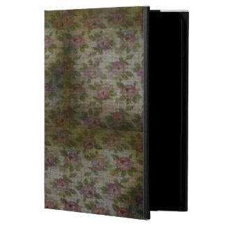 グランジな花のiPadの空気箱 iPad Airケース