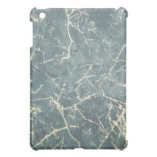 グランジな苦脳のデニムパターンSpeckのiPadの場合 iPad Miniケース