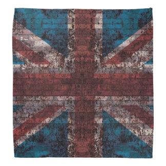 グランジな英国国旗 バンダナ