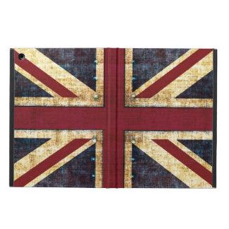 グランジな英国国旗 iPad AIRケース