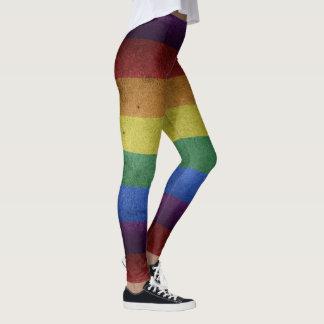 グランジな虹の旗 レギンス