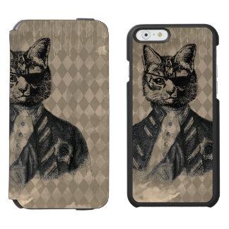グランジな道化師猫 INCIPIO WATSON™ iPhone 5 財布型ケース