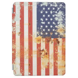 グランジな金属の米国旗3 iPad AIR カバー