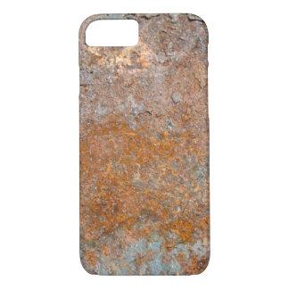 グランジな錆の織り目加工の背景 iPhone 8/7ケース