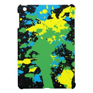 グランジな(ばちゃばちゃ)跳ねるのペンキ iPad MINI CASE