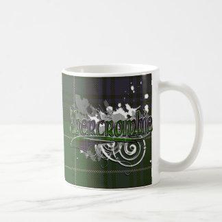 グランジなAbercrombieのタータンチェック コーヒーマグカップ