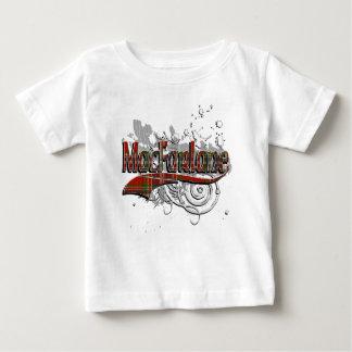 グランジなMacFarlaneのタータンチェック ベビーTシャツ