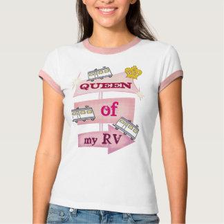 グランジなRVのキャンピングカーのTシャツ Tシャツ