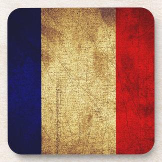 グランジのフランスの旗 コースター