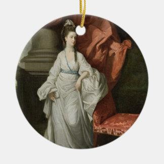 グラントののジェームスグラント、Bt妻女性。、1770-80年 セラミックオーナメント