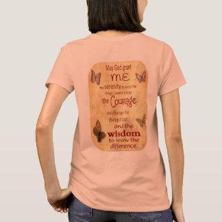 グラント私平静-平静の祈りの言葉-女性のT Tシャツ