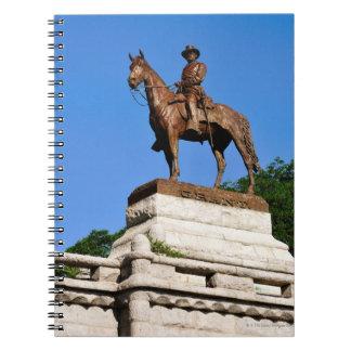 グラント頂上ウリッセースS.グラントの彫像 ノートブック